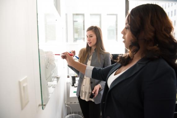 whiteboard folie perfect voor vergaderruimtes